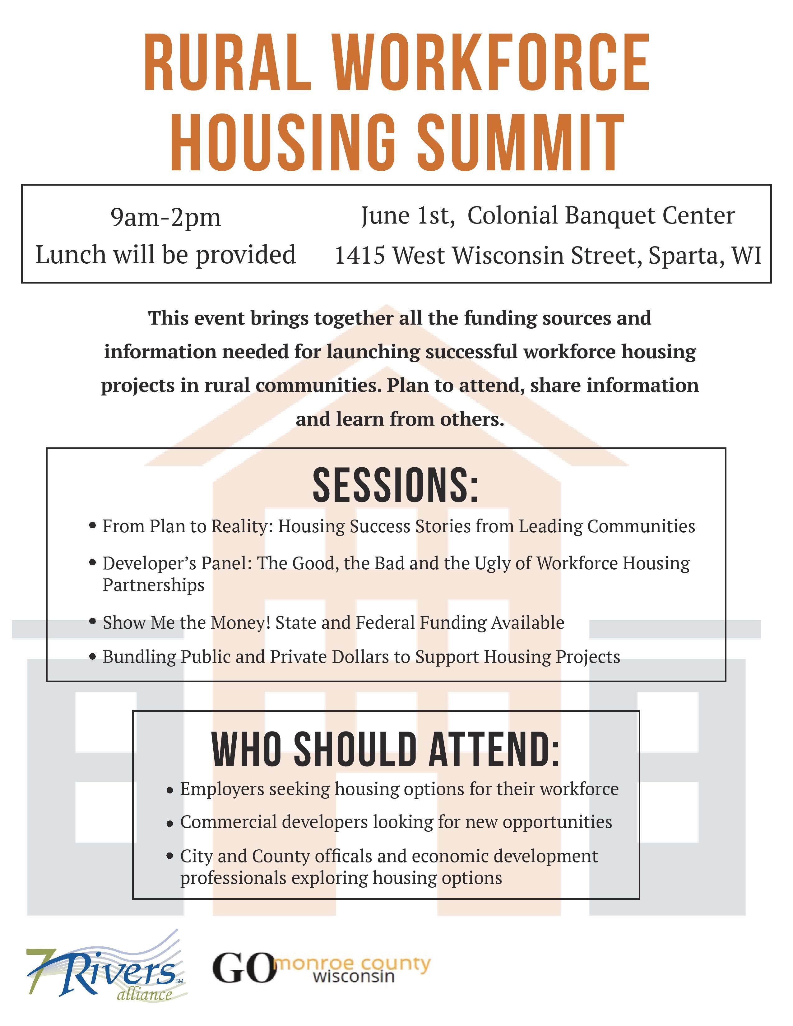 Rural Workforce Housing Summit