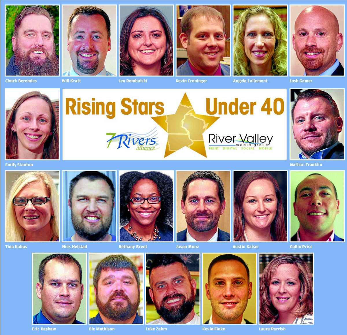Rising Stars Under 40 Reception