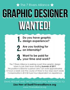 Graphic Design Internship Advertisement