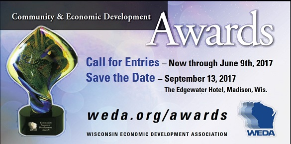 WEDC Community and ECO DEVO awards Logo